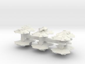 """""""Team Scythe"""" 3mm Anti-Grav Armor Sample Pack in White Natural Versatile Plastic"""