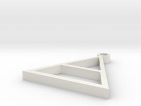 Echelon Triad in White Natural Versatile Plastic