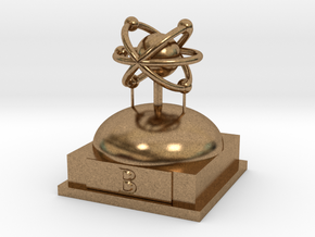 Boron Atomamodel in Natural Brass