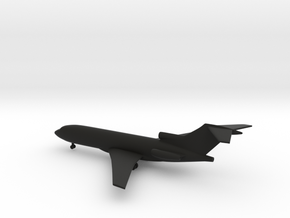 Boeing 727-100 in Black Natural Versatile Plastic: 1:400