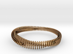 Bracelet Sections in Polished Brass