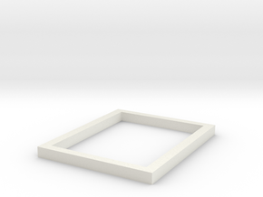 US&S Box Casing Mount in White Natural Versatile Plastic