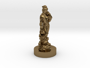 Chinese Queen in Polished Bronze