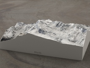 Monte Rosa, Switzerland/Italy, 1:100000 Explorer in Full Color Sandstone