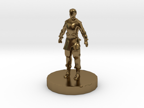 Chinese Pawn in Polished Bronze
