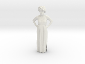 Printle C Femme 346 - 1/32 - wob in White Strong & Flexible