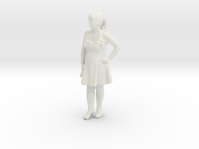 Printle C Femme 332 - 1/35 - wob in White Strong & Flexible