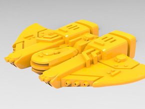 Governor class Escort set in Yellow Processed Versatile Plastic: Small