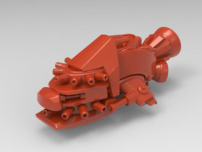 Dakka Kruza in Red Processed Versatile Plastic