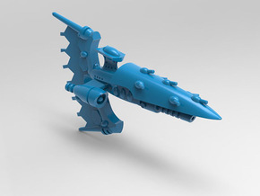 Lupia Class Frigate set in Blue Processed Versatile Plastic: Small