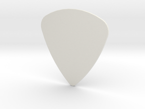 Pick 0.8mm in White Natural Versatile Plastic