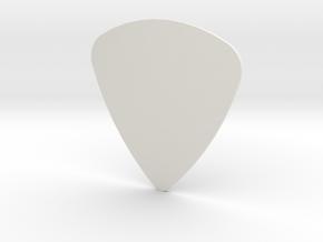 Pick 0.7mm in White Natural Versatile Plastic