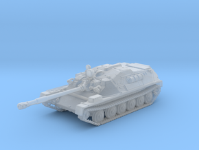 1/144 Russian ASU-85 Self Propelled Gun in Smooth Fine Detail Plastic