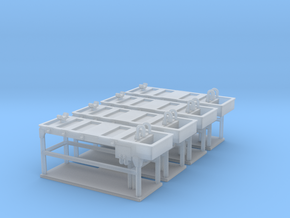 Autopsy table 01. HO Scale (1:87) in Smooth Fine Detail Plastic