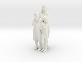 Printle C Couple 103 - 1/24 - wob in White Strong & Flexible