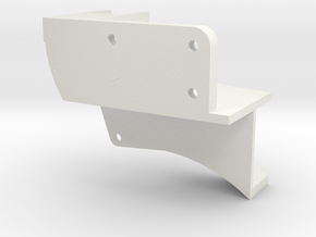 Nishijin A Top Elbow in White Natural Versatile Plastic