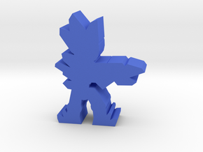 Game Piece, Crystal Alien, Rifle Aiming in Blue Strong & Flexible Polished