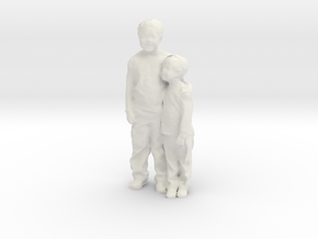 Printle C Couple 008 - 1/24 - wob in White Strong & Flexible