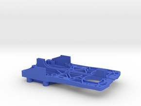 Tamiya M04 - M04S (210mm Wheelbase) chassis in Blue Processed Versatile Plastic