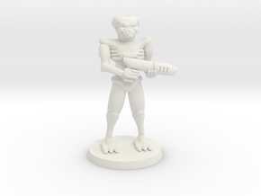 Cusaltreen Mercenary in White Natural Versatile Plastic
