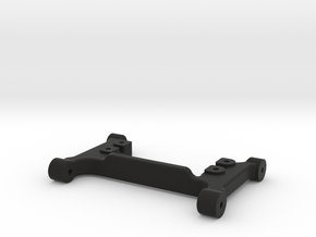 Steering Servo Mount for Traxxas TRX-4 in Black Natural Versatile Plastic
