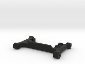 Steering Servo Mount for Traxxas TRX-4 in Black Natural Versatile Plastic