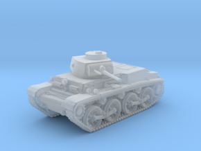 1/144 German Pz.Kpfw. T 15 Experimental Light Tank in Smooth Fine Detail Plastic