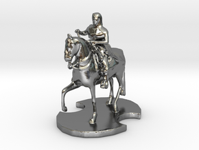 Medieval King (2) in Polished Silver