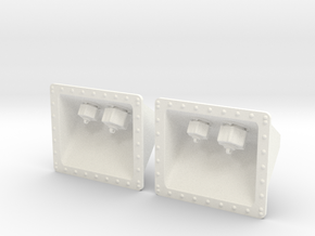 1.5 Prise Hydraulyque Super Puma in White Processed Versatile Plastic