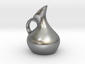 Beaked Jug in Natural Silver