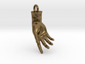 Hand Of Adam in Natural Bronze
