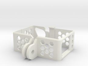 Case for GoPro Hero 3/4 in White Natural Versatile Plastic