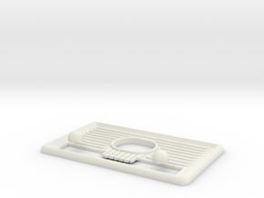 Custom Fallout4 Radio Parts in White Natural Versatile Plastic