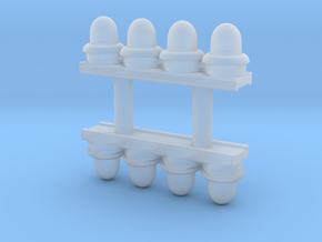 HO Scale RC Lights in Smoothest Fine Detail Plastic