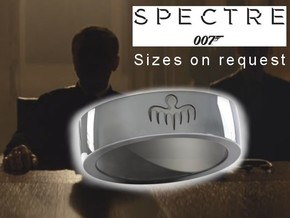 Spectre Ring - 007 in Polished Silver: 10.5 / 62.75