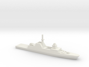 Formidable-class frigate, 1/2400 in White Strong & Flexible