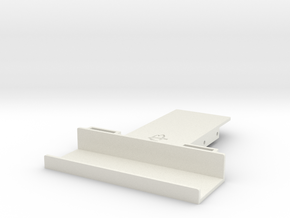 Wraith / Spawn Battery Holder in White Natural Versatile Plastic