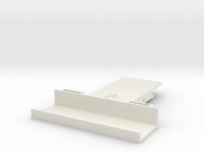 Wraith / Spawn Battery Holder in White Natural Versatile Plastic