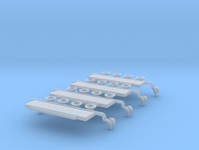 1/87 LB/Sr/4r/BrFl/Lk/Led/Bl in Smoothest Fine Detail Plastic