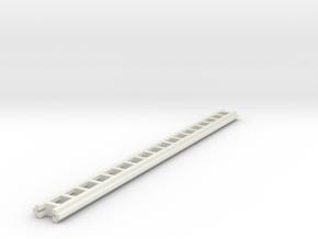 1/87 Crown Ground Ladders in White Natural Versatile Plastic