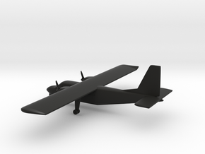 Britten-Norman BN-2 Islander in Black Natural Versatile Plastic: 1:144