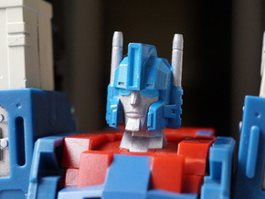Enforcer's Head replacement for City Commander in Smooth Fine Detail Plastic