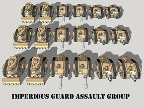 3mm IG Assault Group (18pcs) in Frosted Ultra Detail