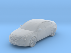 Vauxhall/Opel Insignia in Smooth Fine Detail Plastic