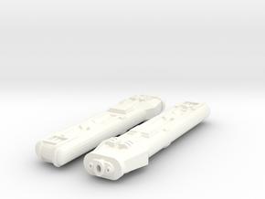 Kwf-2 1000 Tandem in White Processed Versatile Plastic