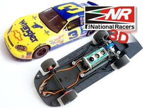 3D Chassis - SCX Chevrolet MonteCarlo 2005 (Combo) in Black Strong & Flexible