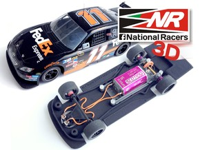 3D Chassis - SCX TOYOTA CAMRY (Combo) in Black Natural Versatile Plastic