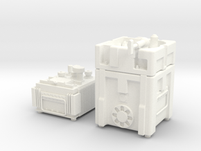 1.14 TOW MISSILE GUIDANCE SET in White Processed Versatile Plastic