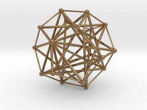 Five Tetrahedra, Variation 1 in Natural Brass