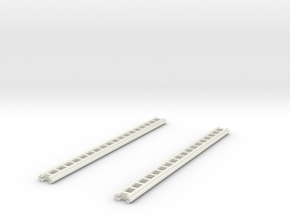 1/87 Crown Ground Ladders Set Of 2 in White Natural Versatile Plastic